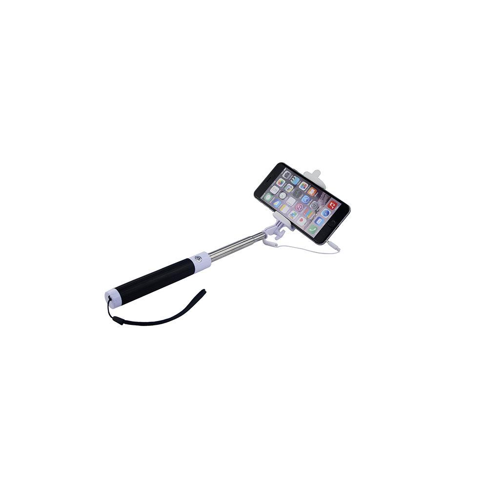 tempo foldable wired selfie stick egadgets. Black Bedroom Furniture Sets. Home Design Ideas