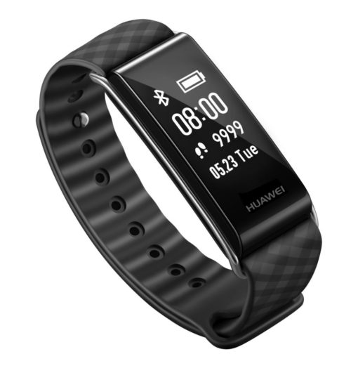 Huawei Color Band A2 Fitness Tracker Black with Black Strap