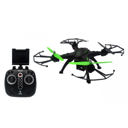 voyager voy drx14 hurricane gps follow me drone with 720p extra battery