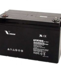 vision 100ah 12v deep cycle agm battery 6fm100z x
