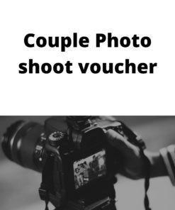 Couple Photo shoot voucher