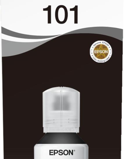Ink Bottles Black 127ml Ecotank L4150 / L4160 / L6160 / L6170 / L6190 Epson 7500 pages