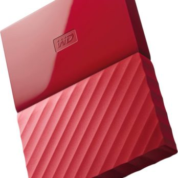 MY PASSPORT 2TB RED WORLDWIDE (7MM)