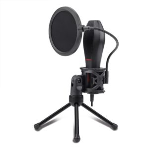 Redragon QUASAR Omnidirectional USB Condenser Microphone Tripod
