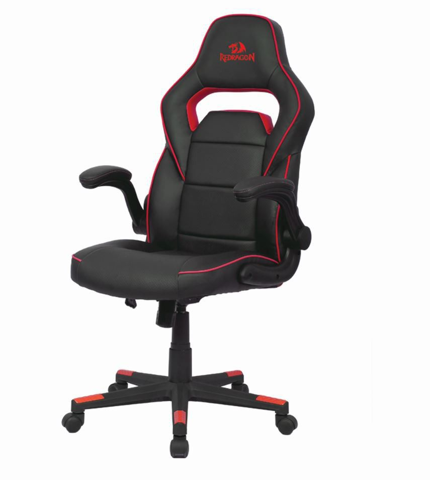 REDRAGON ASSASSIN GAMING CHAIR BLACK AND RED