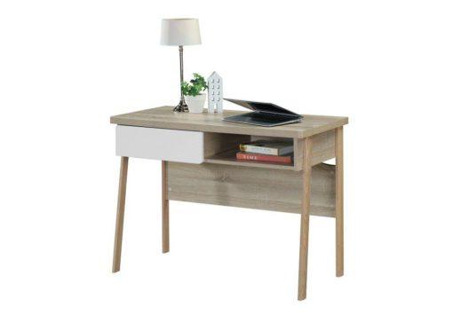 LINX Alaska Work Desk Sonoma Oak and White CST 1060