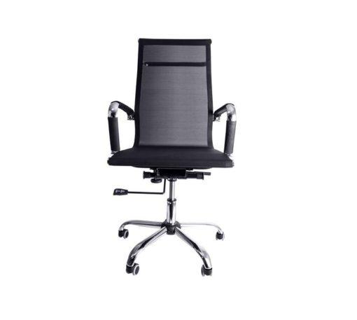 Linx Sleek High Back Chair Black