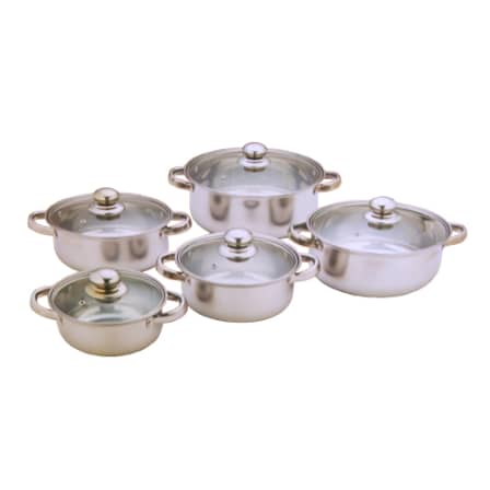 210707161414 T12 12 5 piece Stainless Pot Set 16 24CM CDH 003