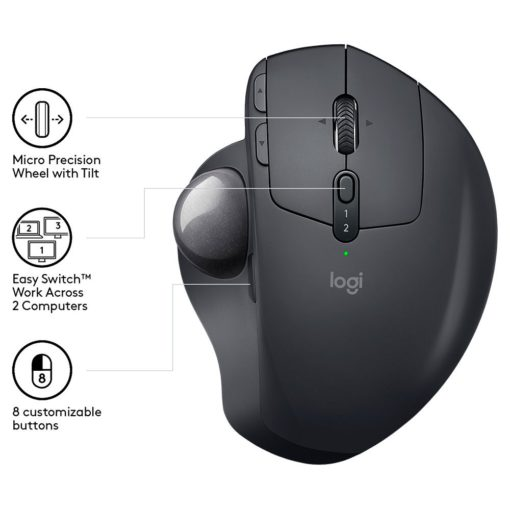 logitech mx ergo wireless mouse 1