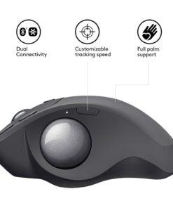 logitech mx ergo wireless mouse 2