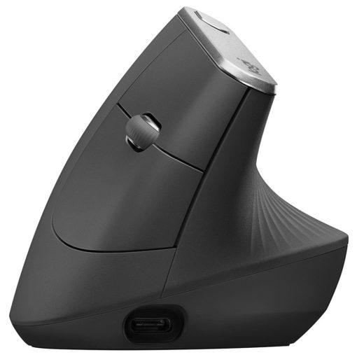 logitech mx vertical ergonomic wireless mouse
