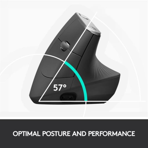 logitech mx vertical ergonomic wireless mouse 6