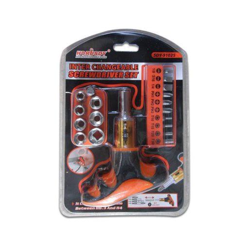 0015479 sdy 91025 19p screwdriver set180