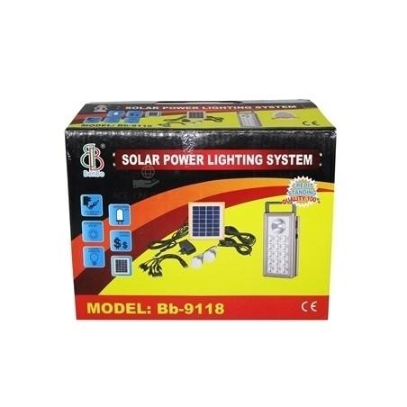 solar power lighting system bb 9118